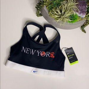 NWT Nike New York Limited Edition Sports Bra